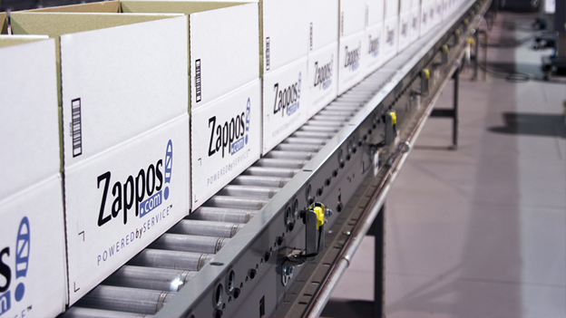 Zappos' manufacture line