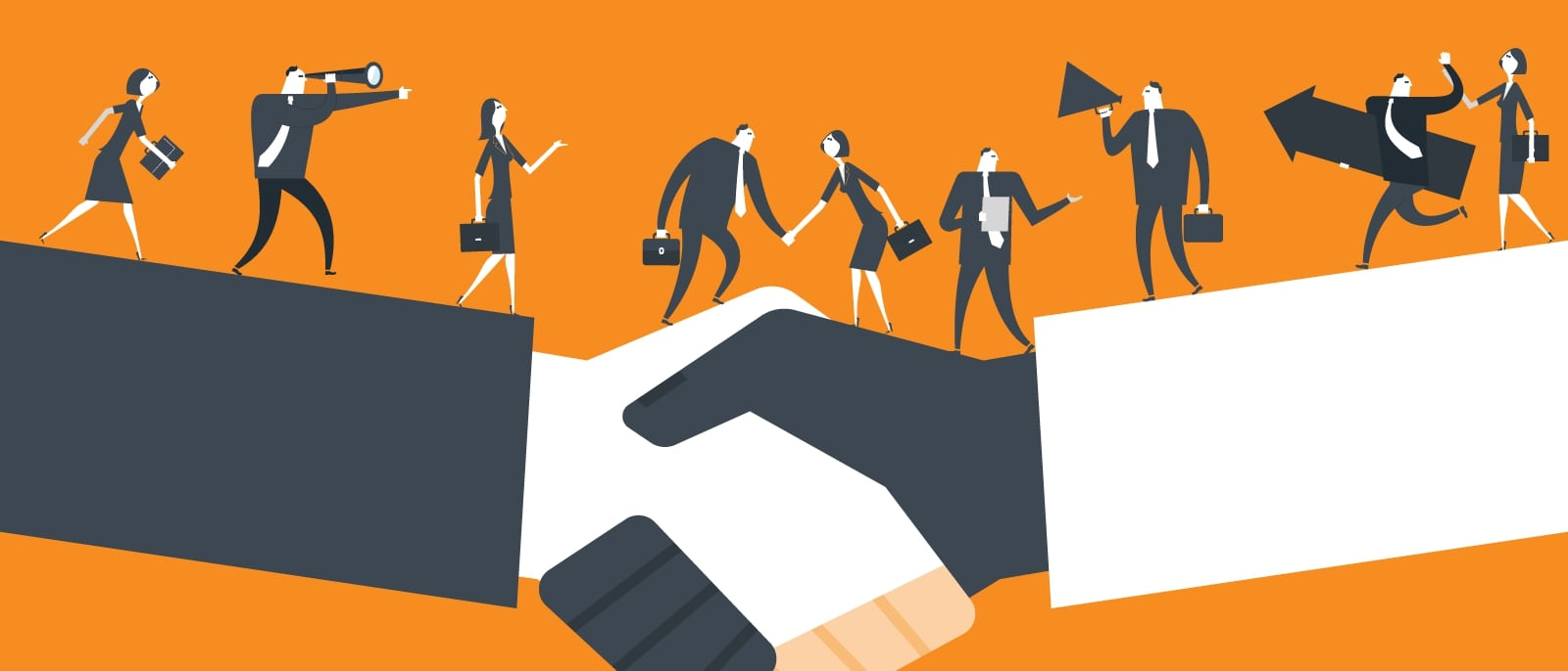 Choose the right marketing partners