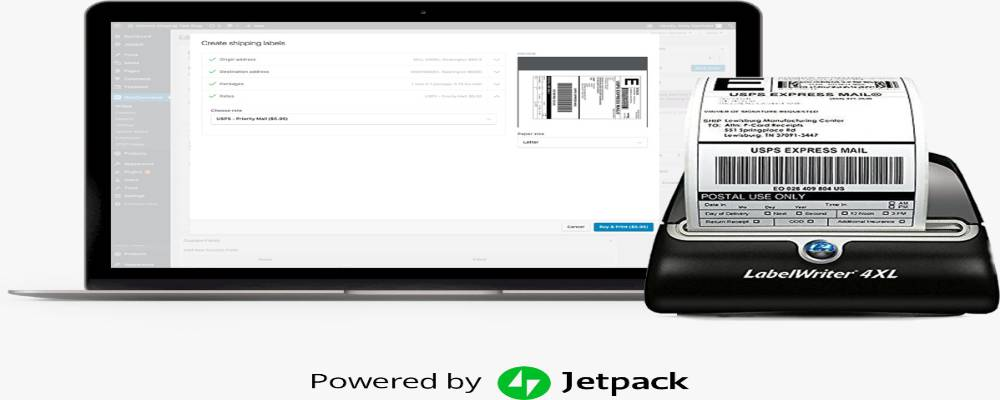 WooCommerce Shipping plugin by Jetpack