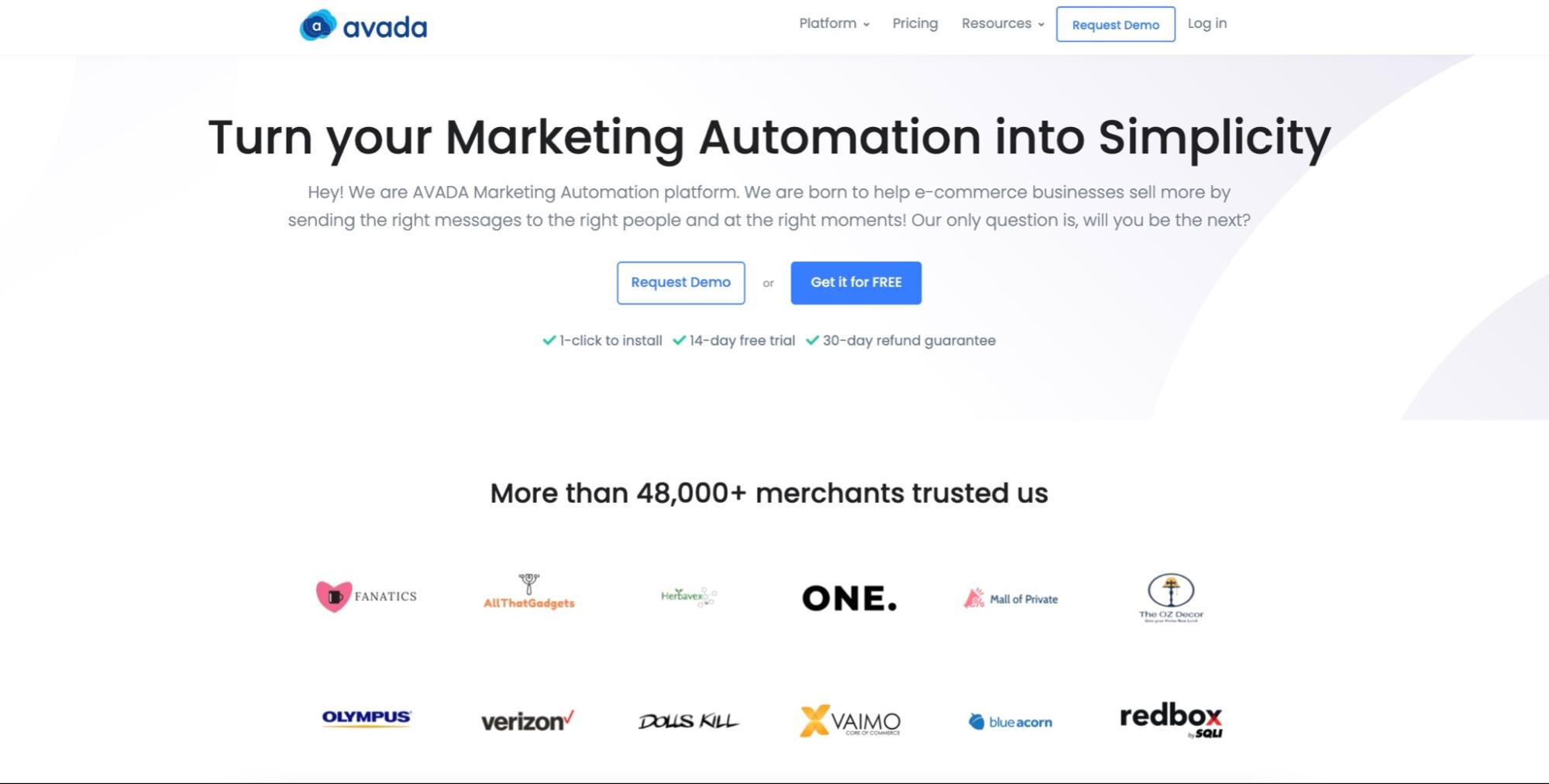 Use AVADA Marketing Automation to carry out your email marketing plan