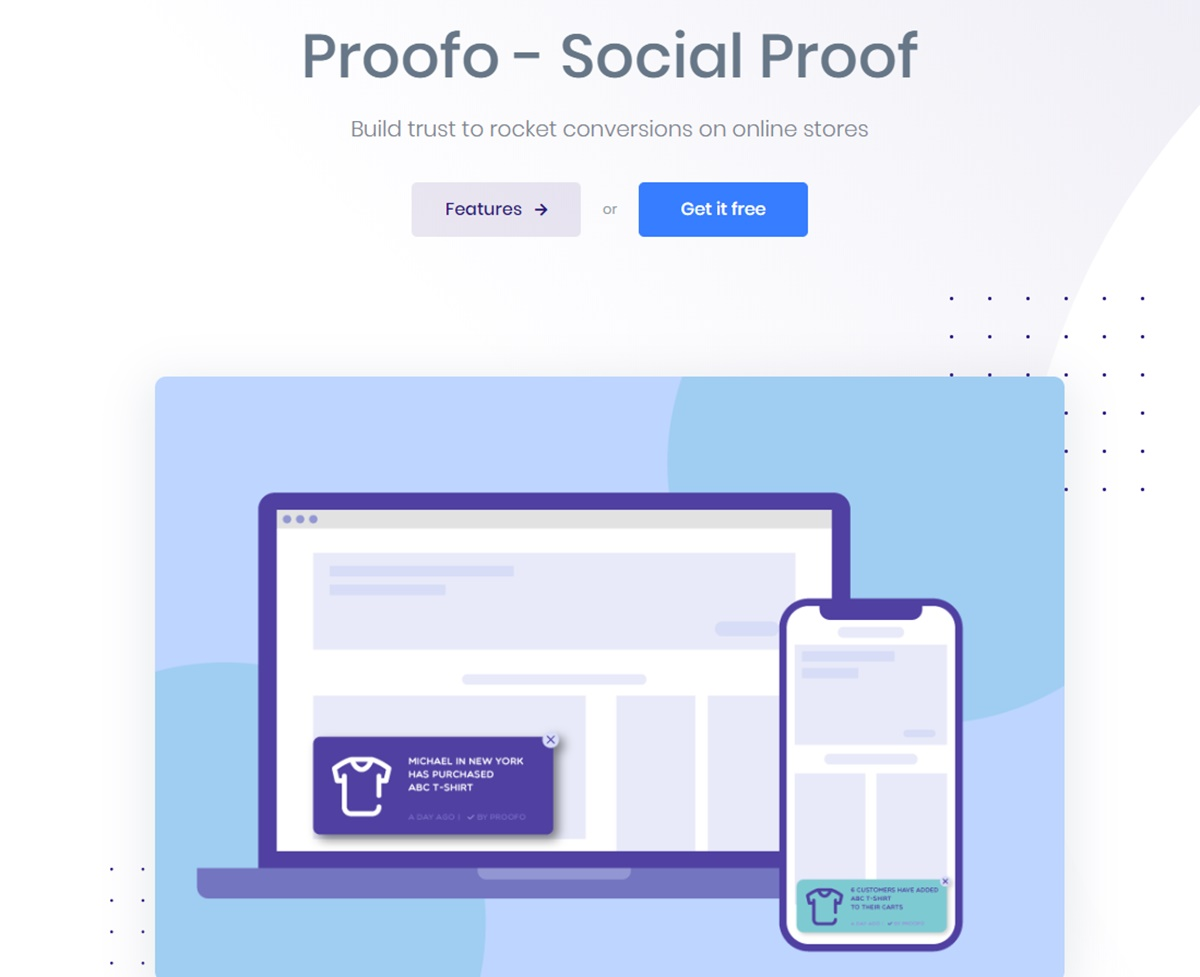 AVADA Proofo - Social proof sales pop up