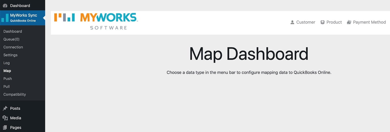 The Map Dashboard
