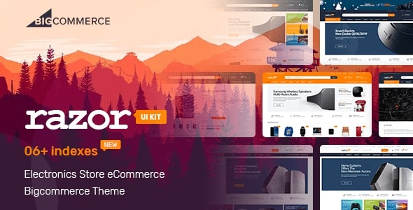 Razor BigCommerce Theme preview Source: xes review