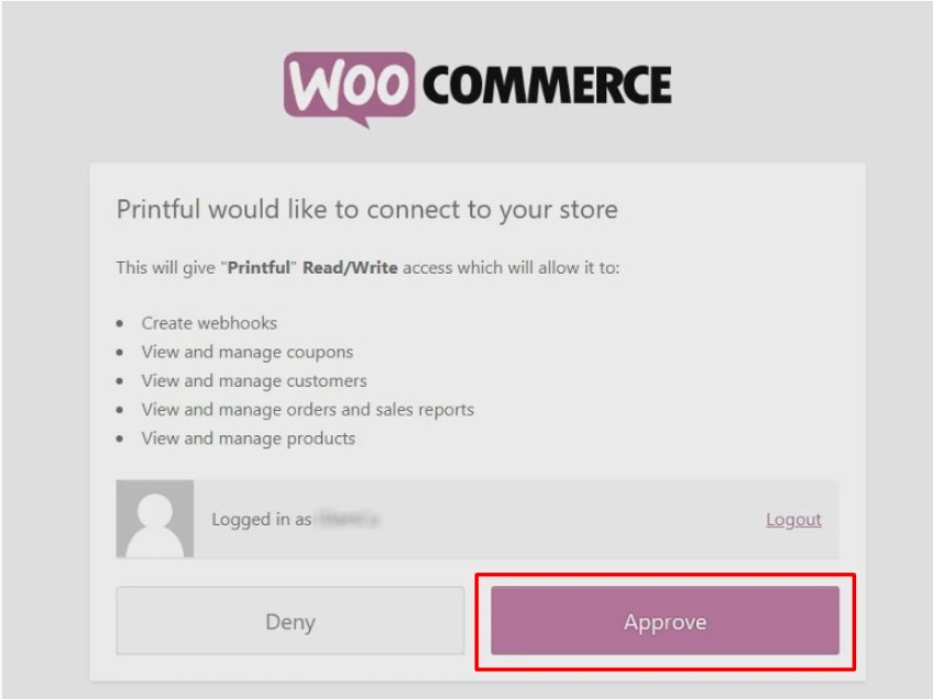 Connect it with WooCommerce
