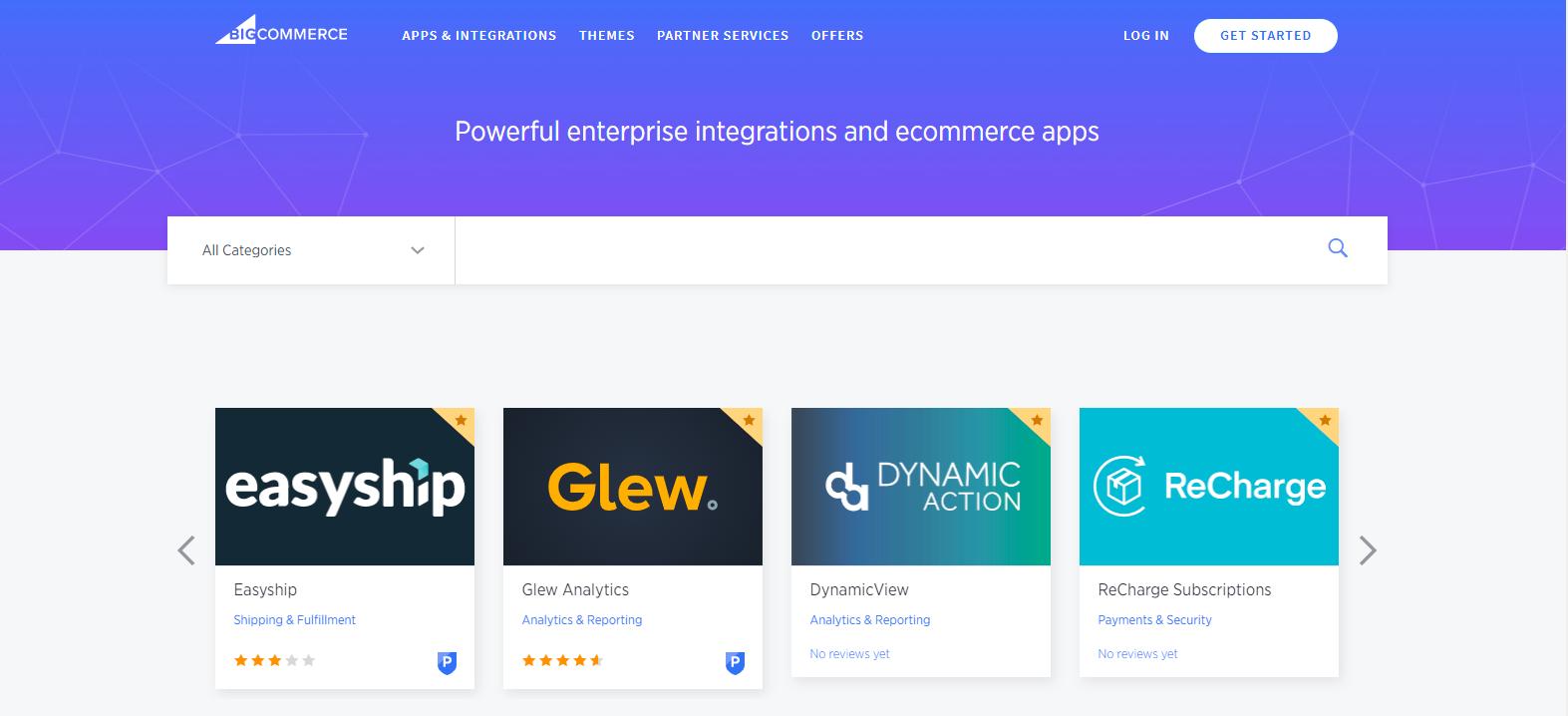 BigCommerce Apps Marketplace
