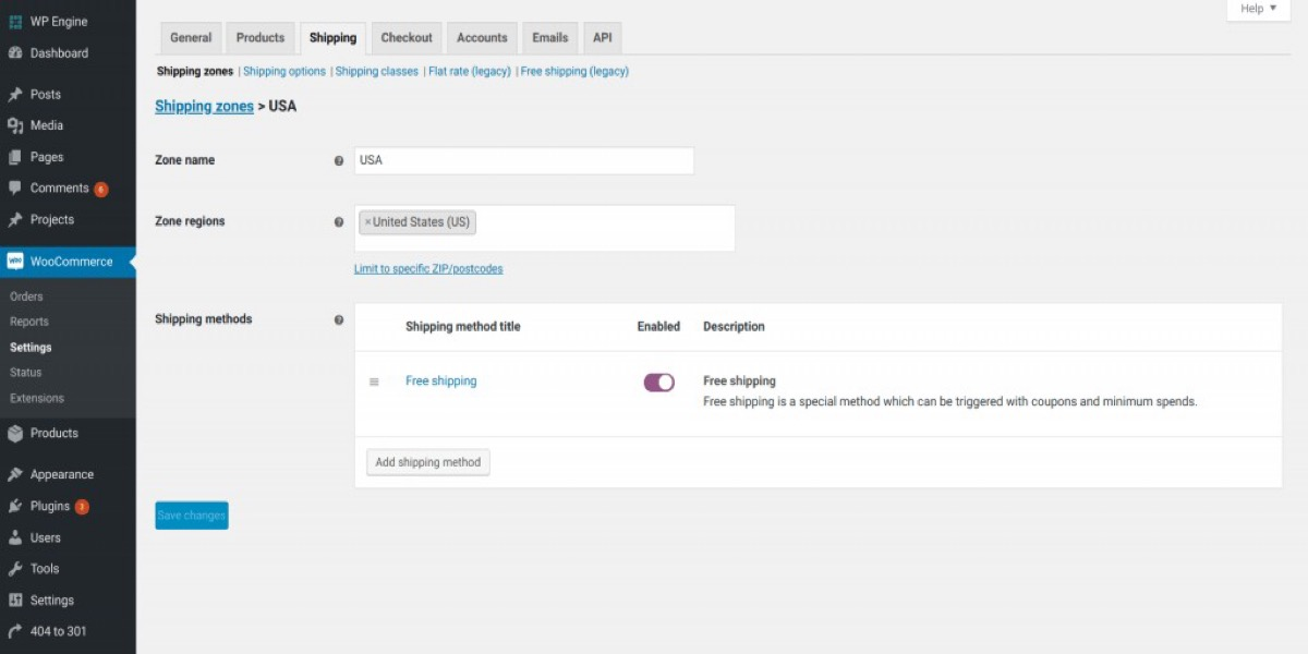 How to set up Shipping Zones and Methods in WooCommerce