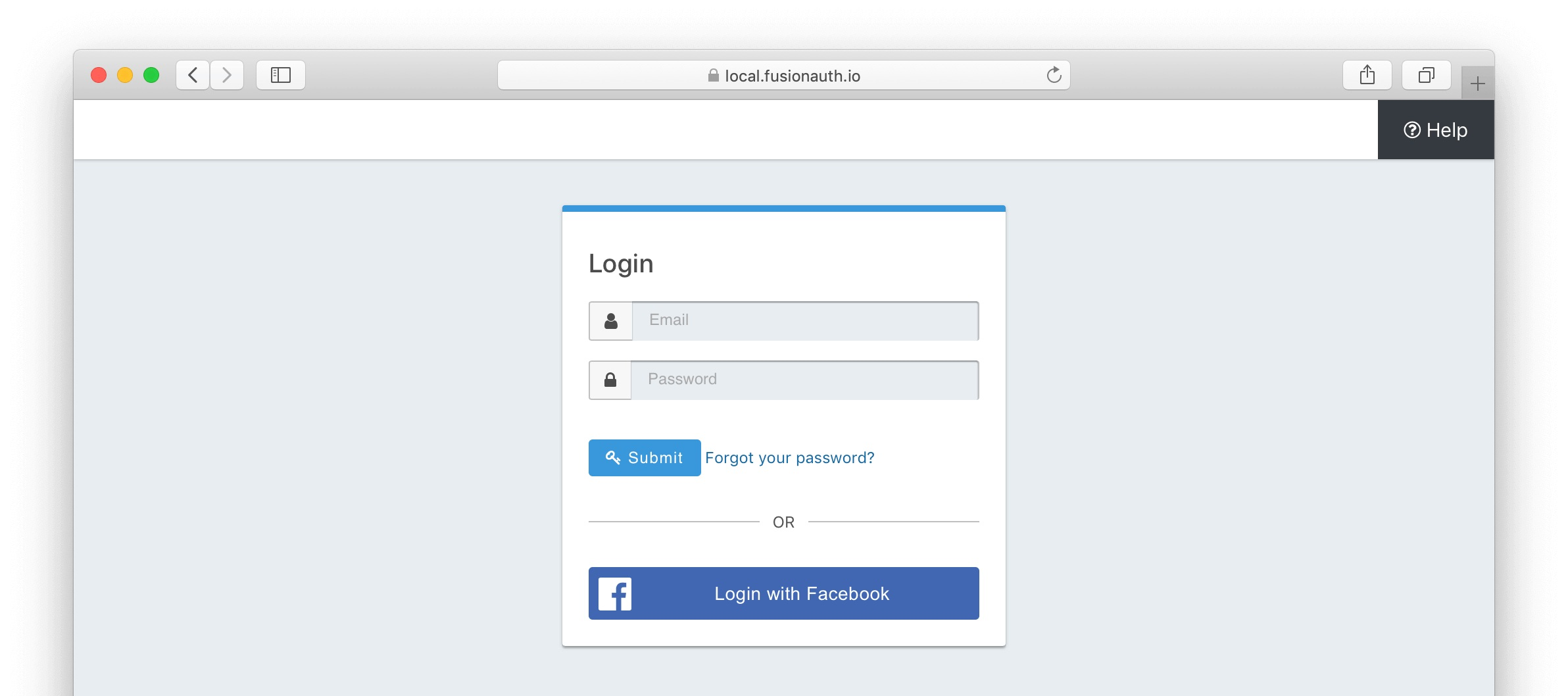 BigCommerce login with Facebook