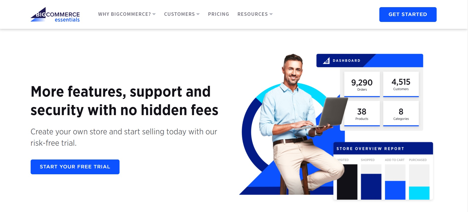 BigCommerce trial version
