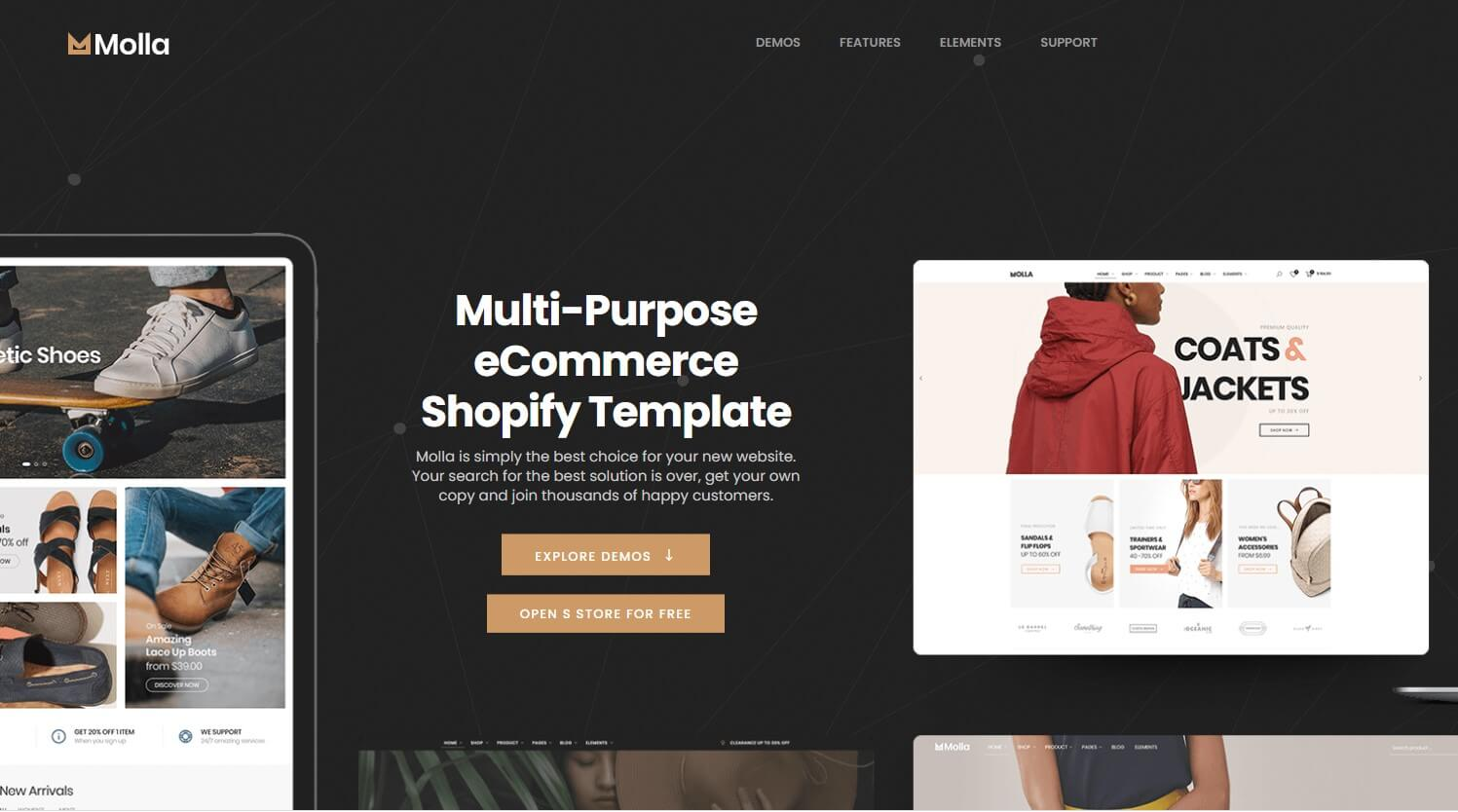 Shopify Food Themes