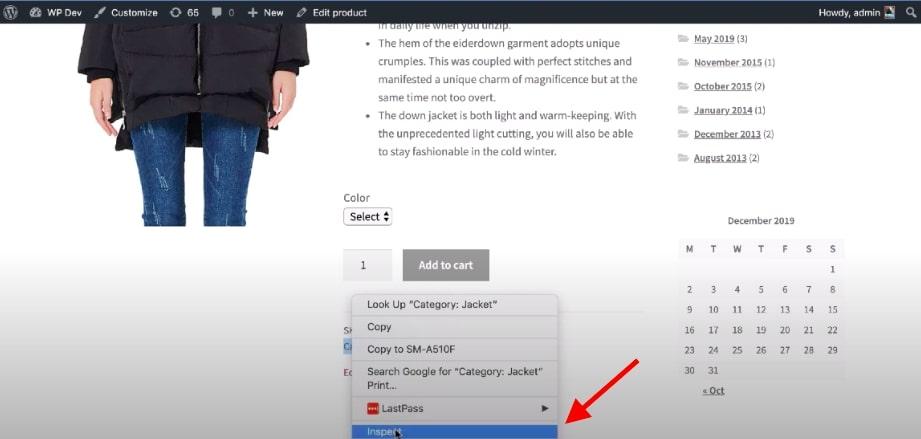 Step 3: Alternative method using CSS style
