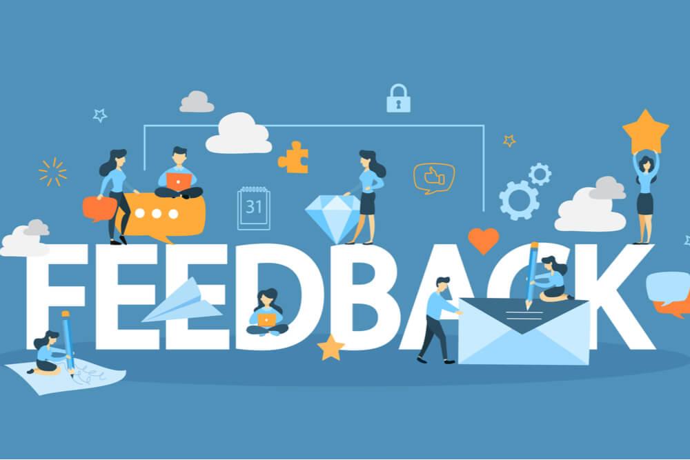 Customers' feedback