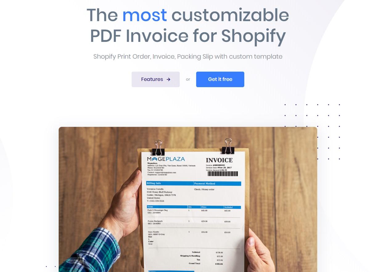 AVADA PDF Invoice - Easy billing documents