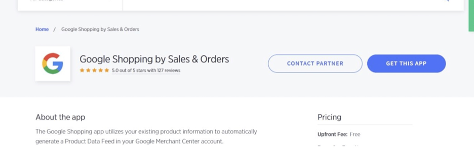 Google Shopping by Sales & Orders
