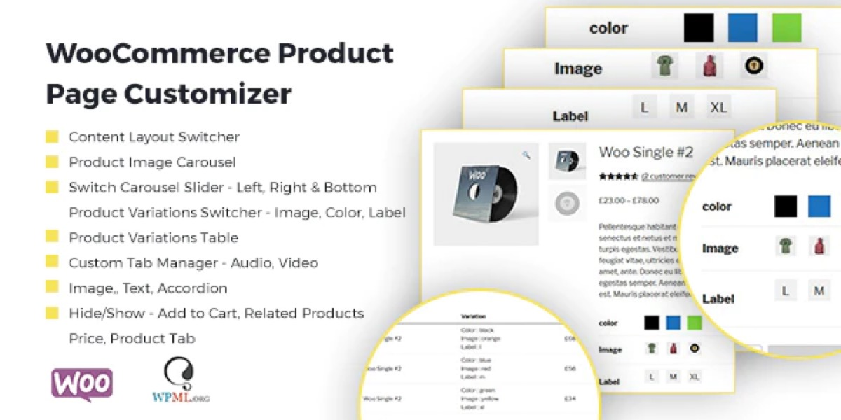 WooCommerce Product Page Customizer