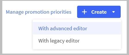 BigCommerce advanced editing