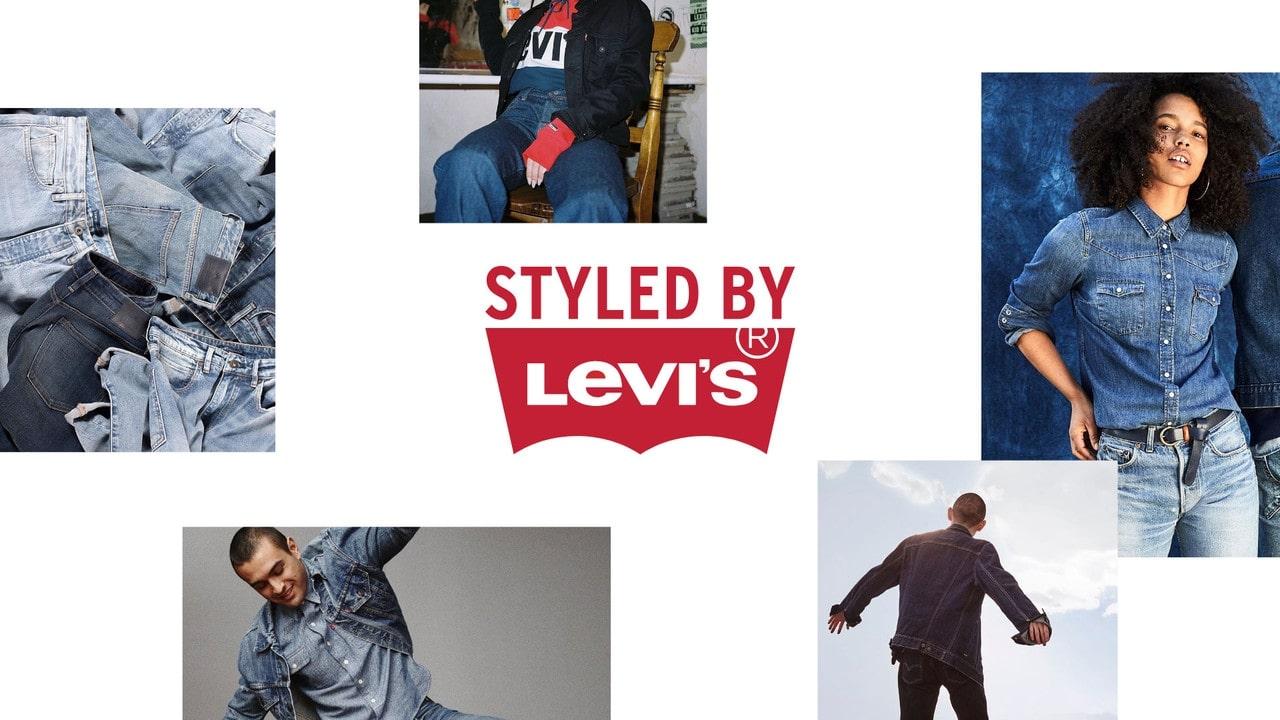 "Levi's & Pinterest's ""Styled by Levi's"""