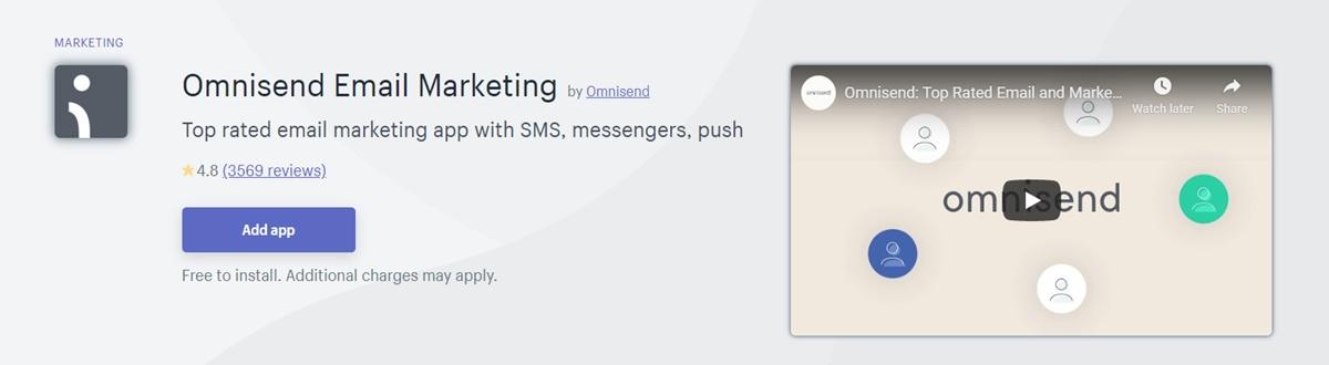 Omnisend - Email marketing app
