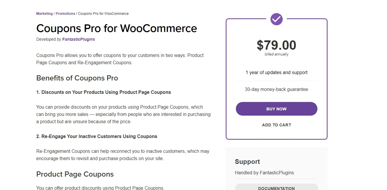 Coupons Pro for WooCommerce