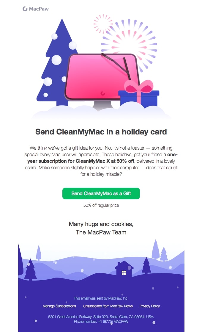 Offer deals and services that make gift-giving easier