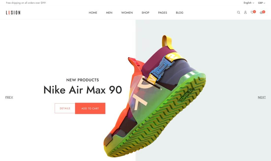 Shopify Shoes Themes