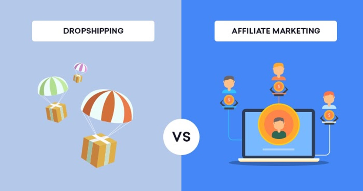 Affiliate Marketing vs Dropshipping: Which to Choose in 2021