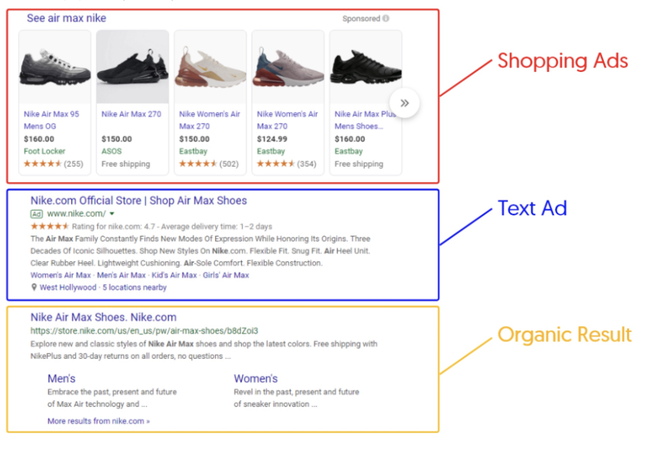 Nike Air Max search