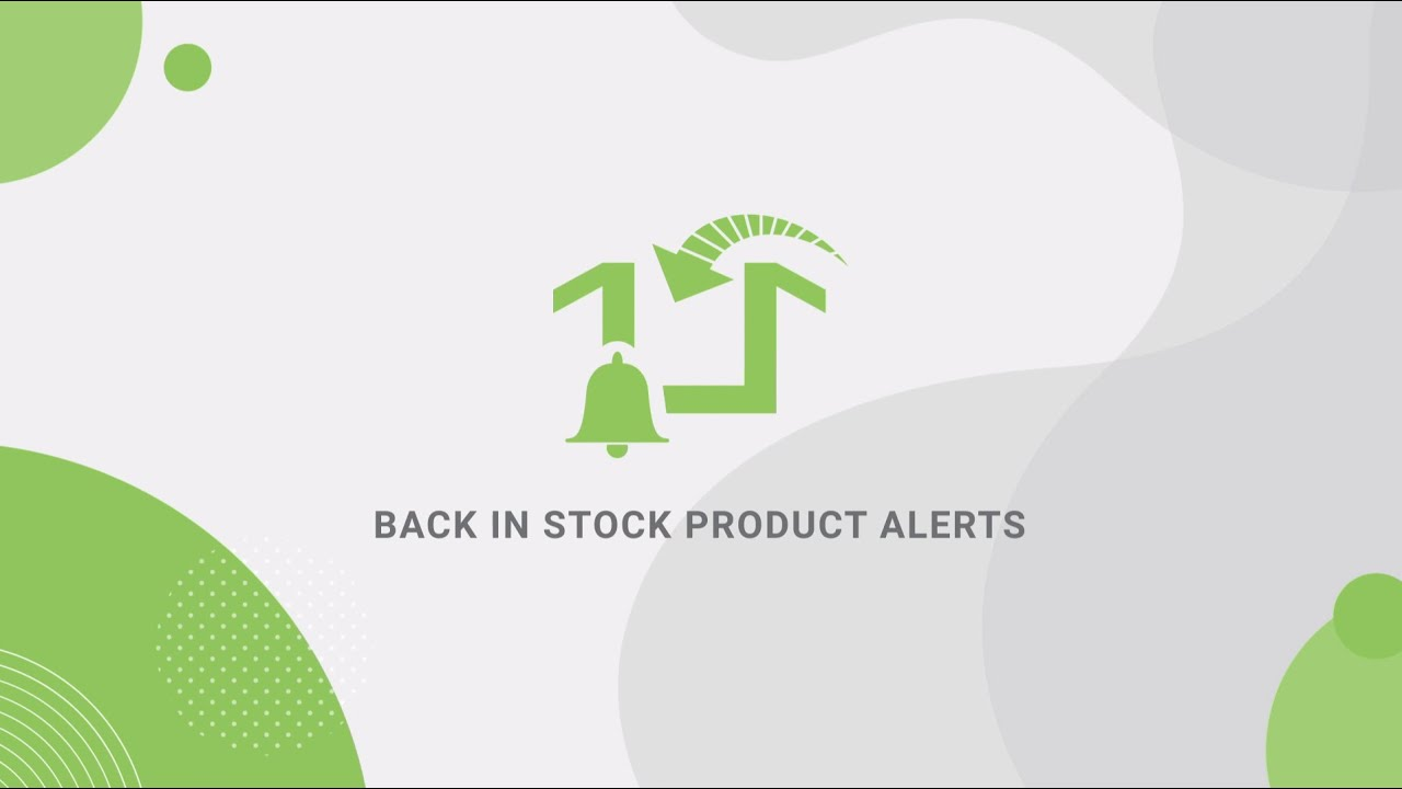 Back in Stock Product Alerts by Swym