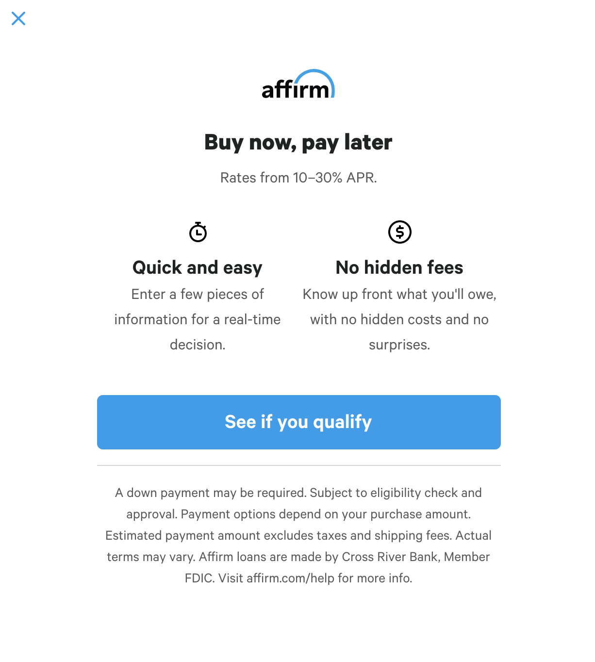 Affirm boosts your brand and reduces risk