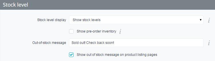 set up BigCommerce Inventory Management