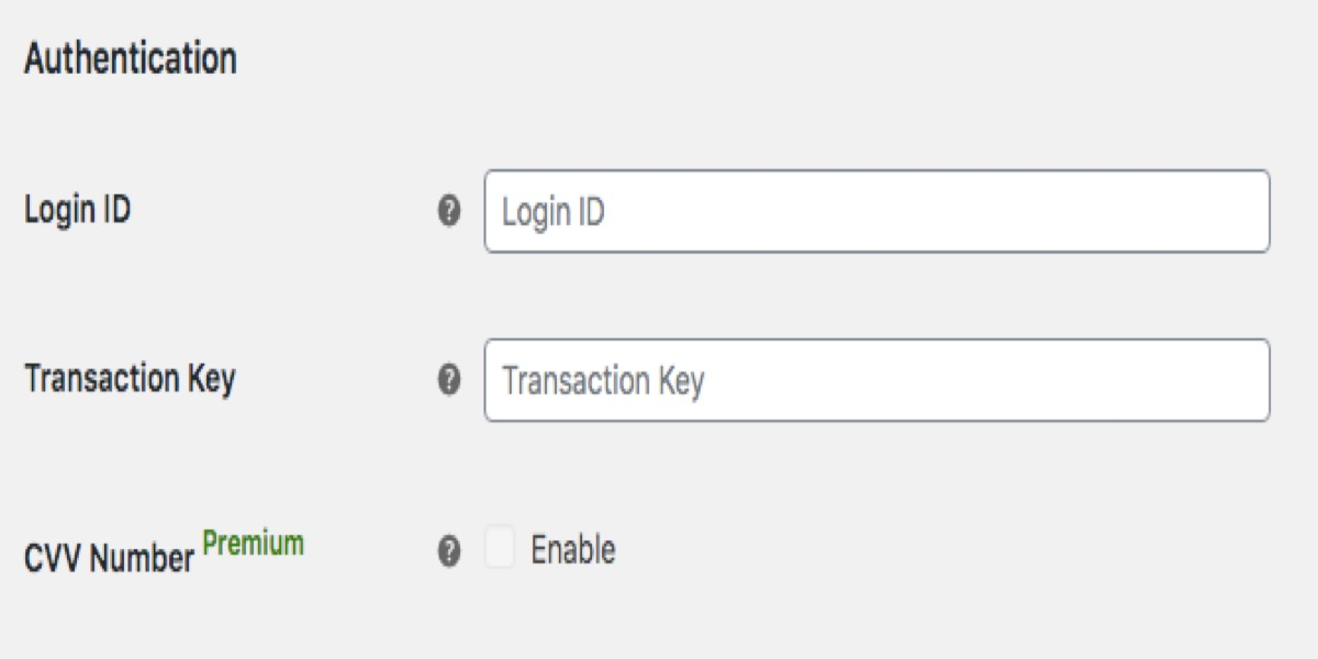 Configure Authorize.Net Card