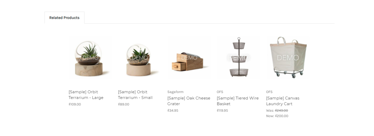 Related products overview
