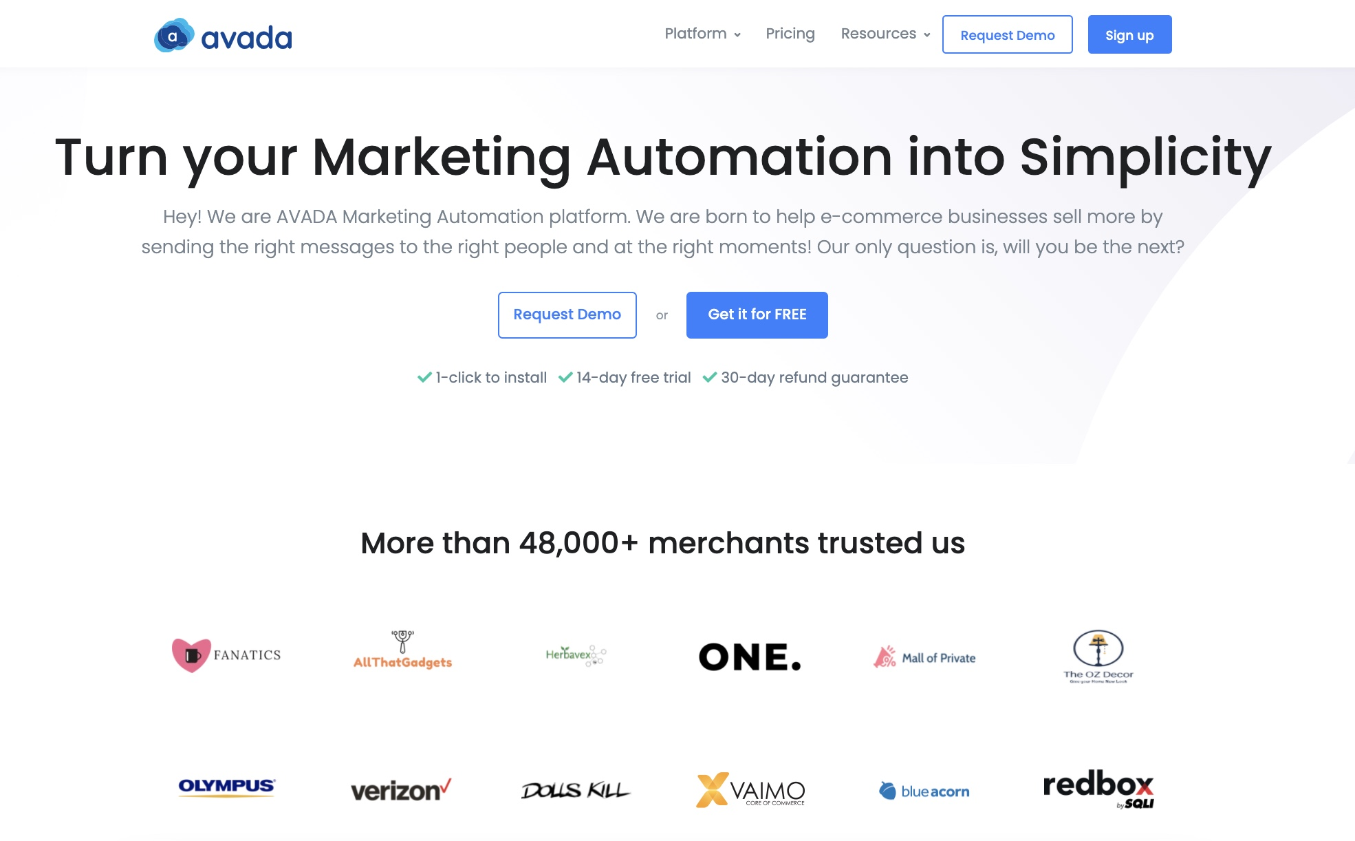 Use AVAD Marketing Automation to reduce cart abandonment rate