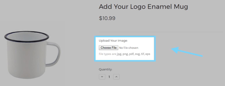 File upload field