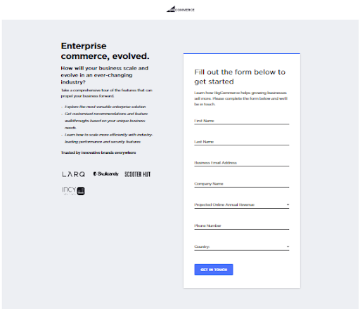 Launch your BigCommerce store