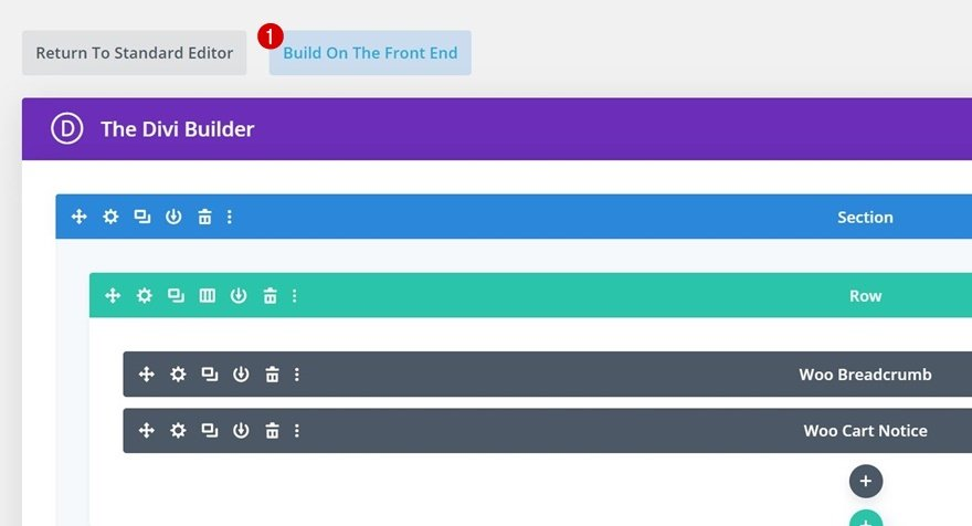Switch Over to Visual Builder
